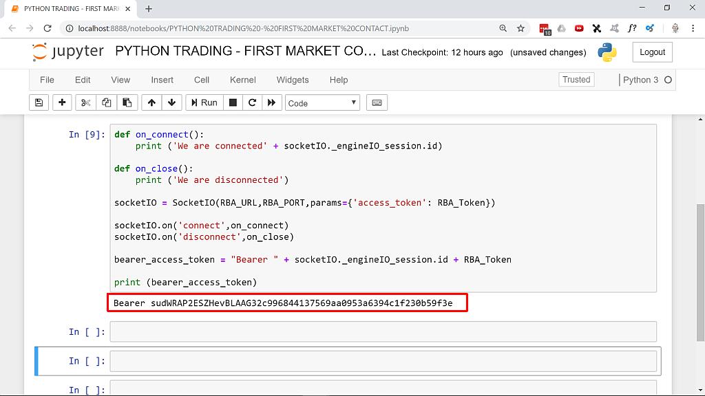 Fxcm Rest Api Python