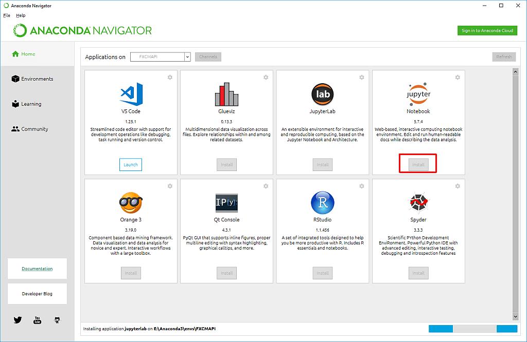 Python Trading - 6 - How to connect API and Anaconda environment